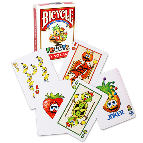 Jeu de cartes Bicycle - Froots