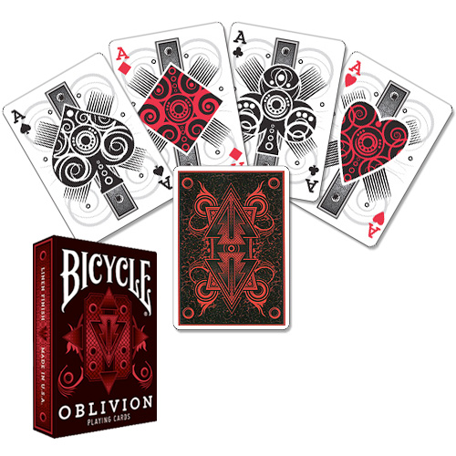 Jeu Bicycle Oblivion Rouge