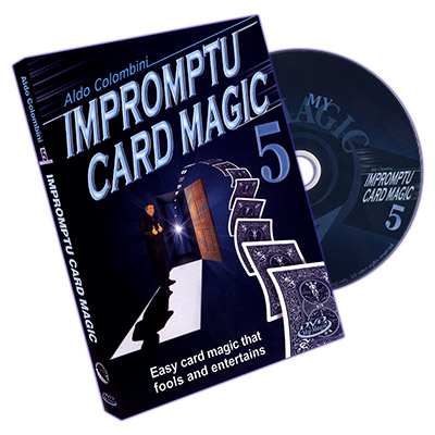 DVD Impromptu Card Magic VOL.5 (Aldo Colombini)