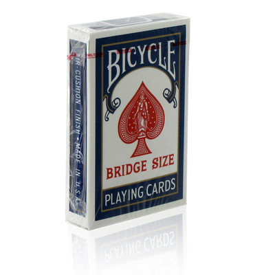 Jeu de cartes Bicycle format bridge Dos Bleu