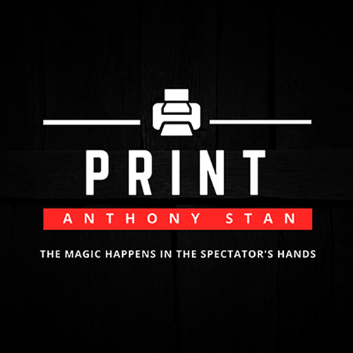 PRINT - Anthony STAN