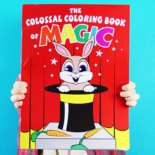 Colossal Magic Coloring Book - Danny Orleans