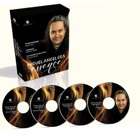COFFRET 4 DVD - Miguel Angel GEA - ESSENCE