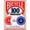 100 Jetons de Poker (Bicycle)