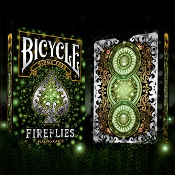 Jeu de cartes Bicycle - Fireflies
