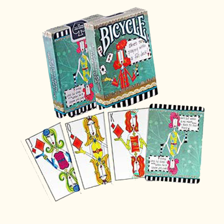 Jeu de cartes Bicycle - Dolly Mama