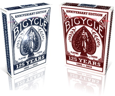 Jeu de Cartes Bicycle 125 Years Anniversary Edition
