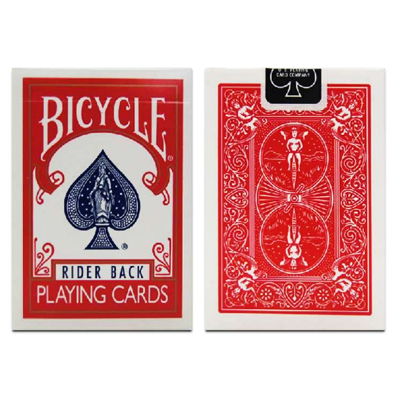 Bicycle RIDER BACK - ROUGE ( Format Poker )