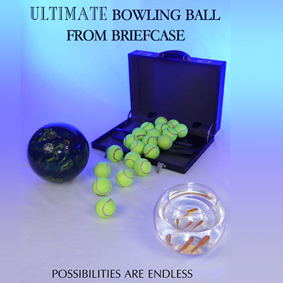 ULTIMATE BOWLING BALL FROM BRIEFCASE - Richard Griffin