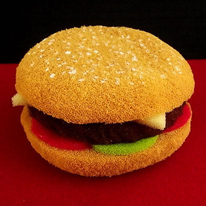 Burger en mousse - Alexander MAY