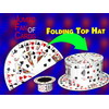 Cartes en chapeau / CARD FAN to Card Top Hat