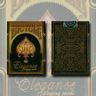Bicycle Elegance  Emerald (Limited Edition) by Collectable Playing Cards