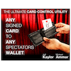 Any Card to Any Spectator Wallet  black Jeff Kaylor & Michael Ammar