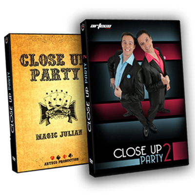 Coffret 2 dvd - CLOSE UP PARTY 1 & 2