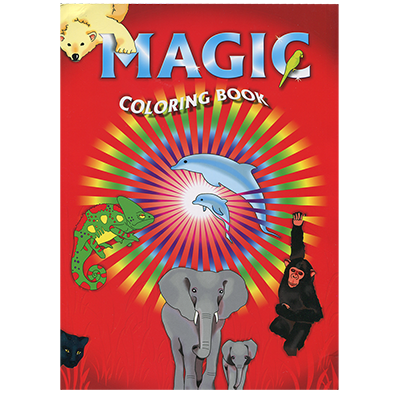 Album magic (coloriage) Coloring book