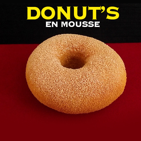 Donut&#39s en mousse - Alexander May