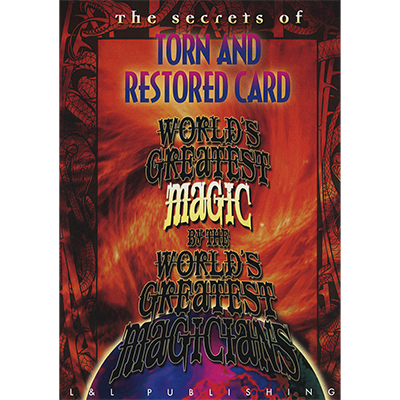 DVD Torn & Restored Newspaper (World Greatest Magic)