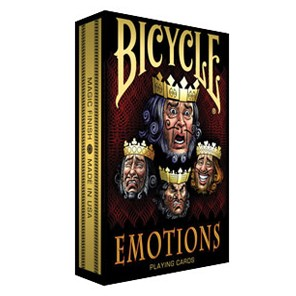 Jeu de cartes Bicycle - EMOTIONS