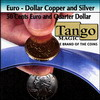 Euro-Dollar Copper And Silver (50 Cent Euro and Quarter Dollar)