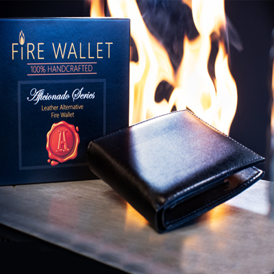 The Aficionado Fire Wallet - Portefeuille en feu LUXE
