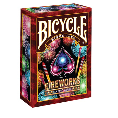 Jeu de cartes Bicycle - FIREWORKS