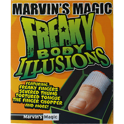 Freaky Body Parts Finger! by Marvin&#39s Magic