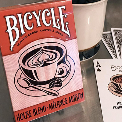 Jeu de cartes Bicycle - House Blend