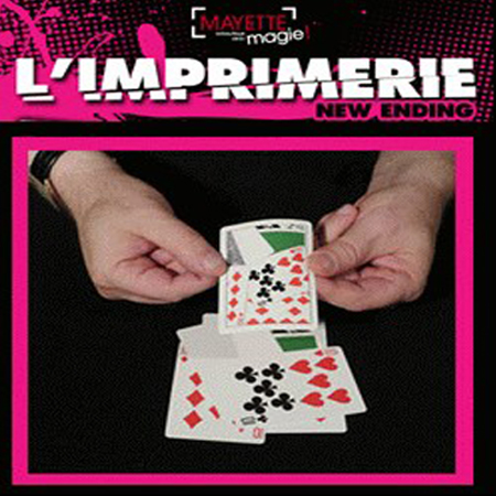 L'Imprimerie en Bicycle -Dominique Duvivier (nouvelle version)
