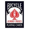 Carte Bicycle jumbo index format poker