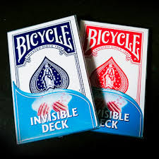 Bicycle Jeu invisible JUMBO