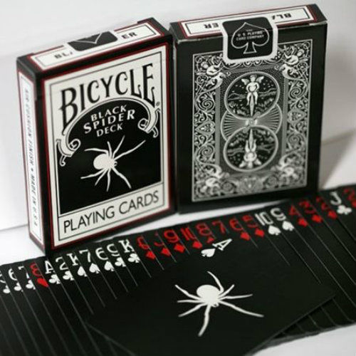 Jeu de cartes Bicycle - Black Spider