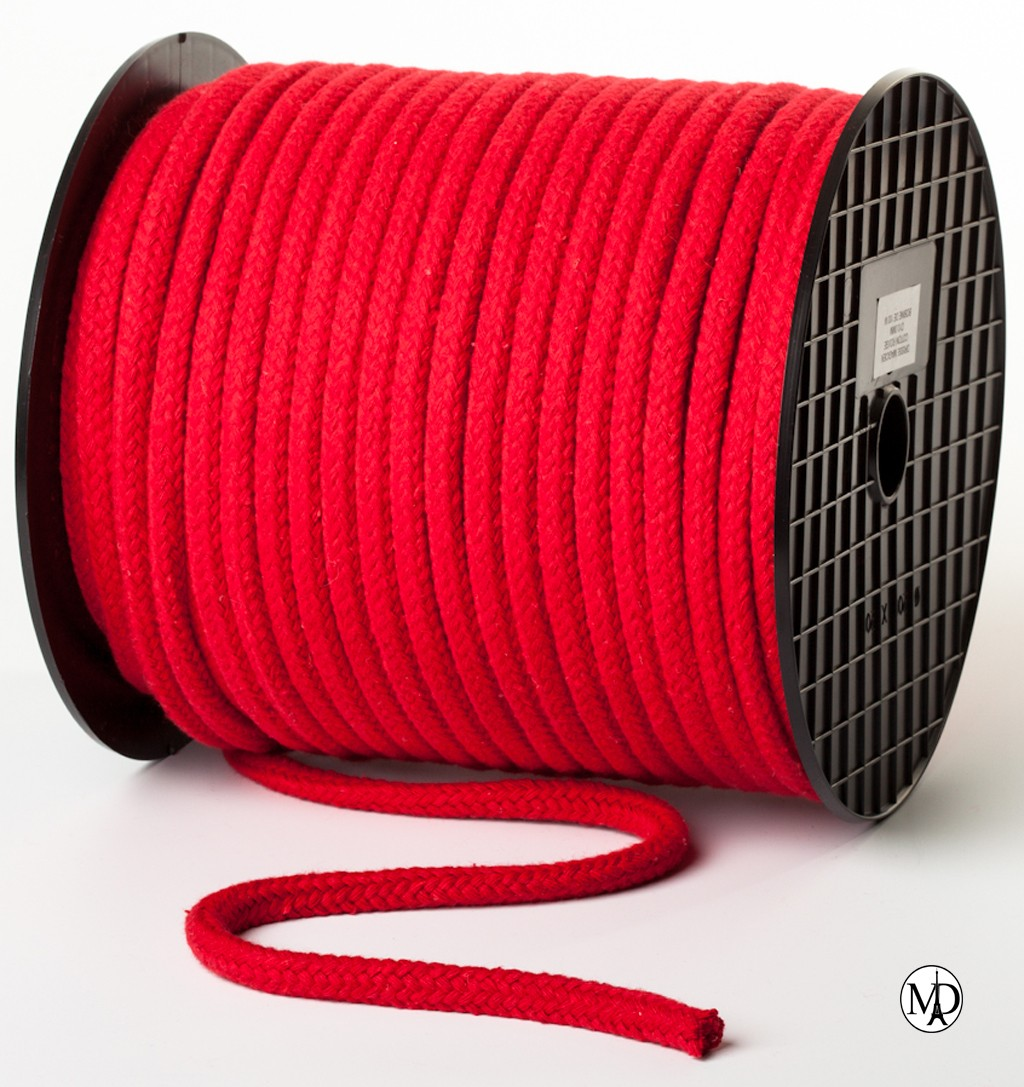Corde rouge 10mm