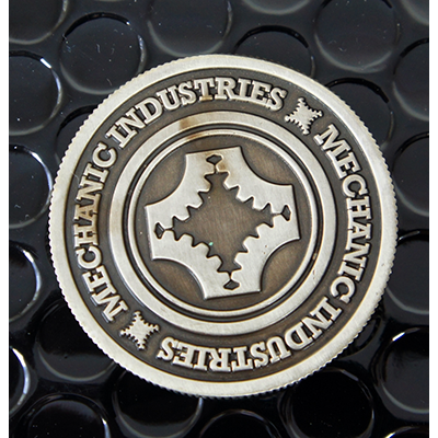 Full Dollar Coin (Gun Metal Grey)  Mechanic Industries