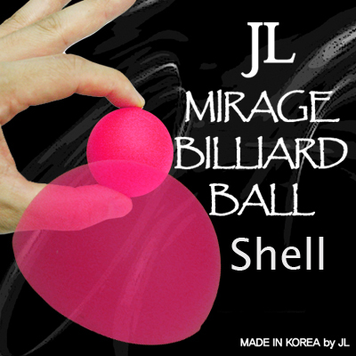 "Coquille Mirage Billiard Balls by JL ROSE 1,7"" - 4,1 cm"