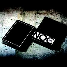 Jeu de cartes Noc OUT - BLACK