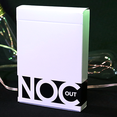 Jeu de cartes Noc OUT - BLANC
