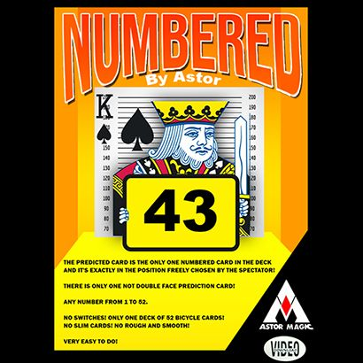 Numbered - ASTOR