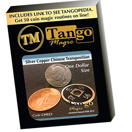 Silver Copper Chinese Transposition - Taille un dollar TANGO