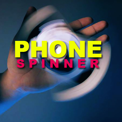 Phone Spinner - ( Fidget phone holder)
