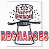 Recharges - Signature Edition Sketchpad Birthday - Martin Lewis