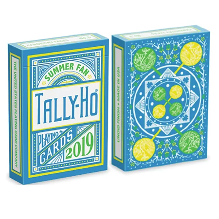 Jeu de cartes - TALLY HO Summer Fan