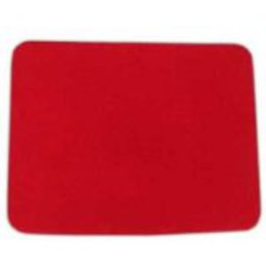 Tapis de close-up petit ROUGE - Goshman