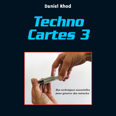 Techno carte vol 3 - Daniel RHOD