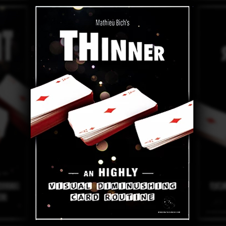 Thinner - Mathieu Bich ( diminution paquet + étui )