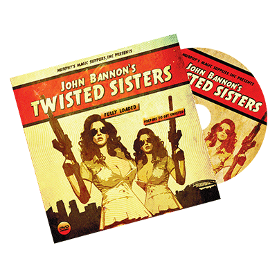 Twisted Sisters 2.0 DVD and Gimmick  John Bannon