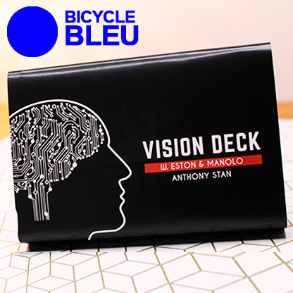 VISION DECK - ANTHONY STAN (BLEU)