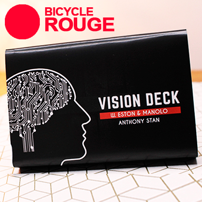 VISION DECK - ANTHONY STAN (ROUGE)
