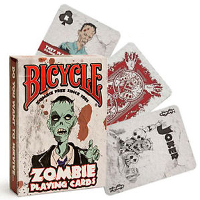 Jeu de cartes Bicycle - ZOMBIE