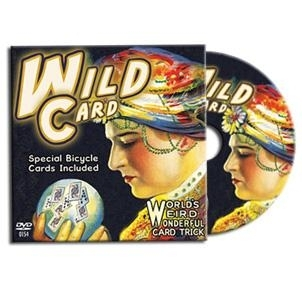 DVD Wild Card (Cartes Bicycle Inclus)