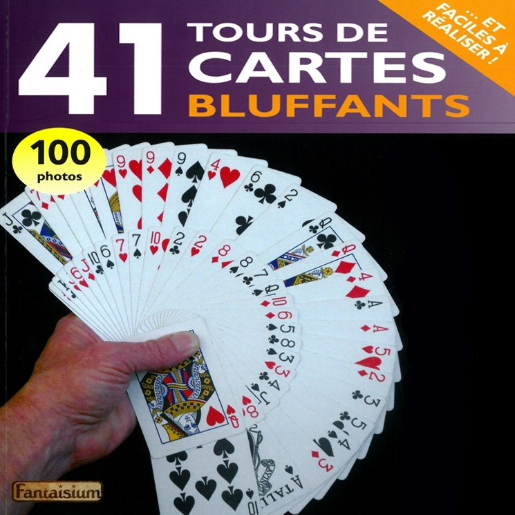 tours de cartes bluffants (Livre)